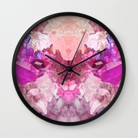 crystal Wall Clocks featuring Crystal by Dasha Grishina
