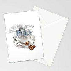 Coffe City Stationery Cards