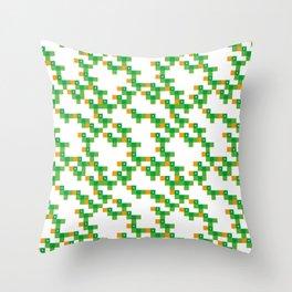 Pixel by pixel – Parrot Throw Pillow