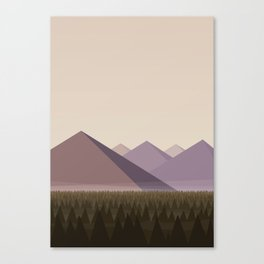 Twin Peaks - James' Valley View Canvas Print