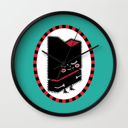 My Little Black Tronik Wall Clock
