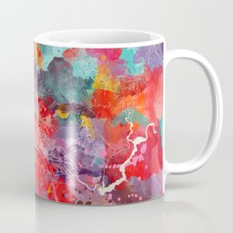 Boise map Idaho painting 2 Coffee Mug