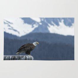 Bald Eagle of Resurrection Bay, No. 1 Rug
