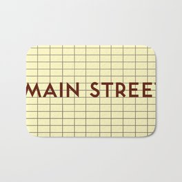 MAIN STREET | Subway Station Bath Mat