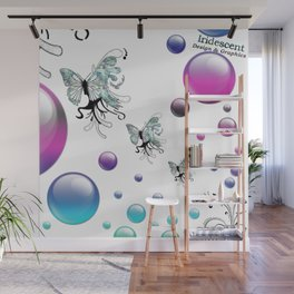 Q The Bokeh Fly Wall Mural