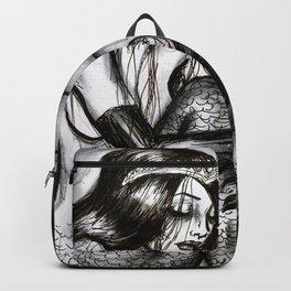Black Mermaid Backpack