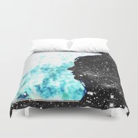fault Duvet Covers featuring The Fault in Our Stars by CATHERINE DONOHUE