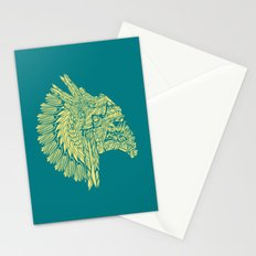 Native American Storm Trooper  Stationery Cards