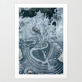 Iceshot Art Print