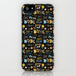 Sports pattern for basketball. For boy. iPhone Case