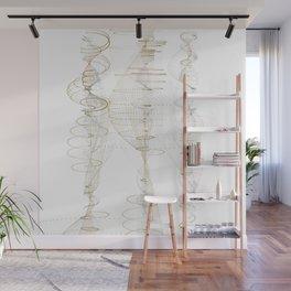 Spiral Columns Wall Mural