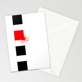 Don't Lose Control (Square) Stationery Cards