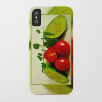 vegetables iPhone & iPod Cases featuring Juicy Vegetables by Art-Motiva
