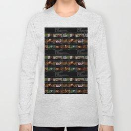 Lives In A Beetlebum Blurry House Long Sleeve T-shirt