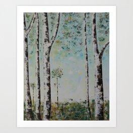 Forrest Birch #1 of 3 Art Print