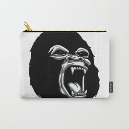 Angry gorilla head. Carry-All Pouch