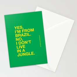 From Brazil III Stationery Cards