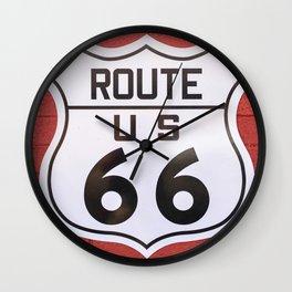 Mother Road Wall Clock