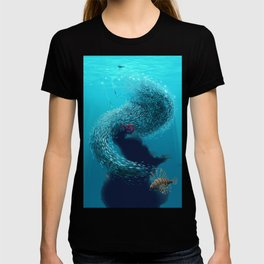 coral shelter T-shirt