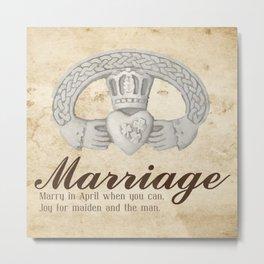 April Marriage Metal Print
