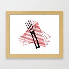 Interlace Framed Art Print