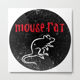 Mouse Rat! Metal Print