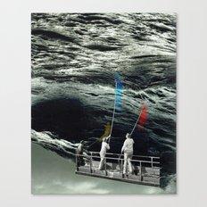 atmosphere 47 · watercolor Canvas Print
