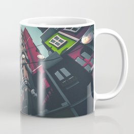 Yard in Inner Town Coffee Mug
