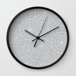 Spiderweb Latice Wall Clock
