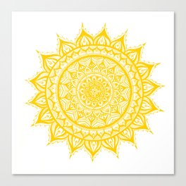 Sunflower-Yellow Canvas Print