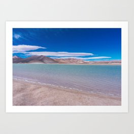Piedras Rojas (Red Rocks), San Pedro de Atacama Desert, Chile 2 Art Print
