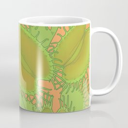 Free Hugs (Venus flytrap - Orange) Coffee Mug