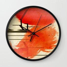DE Wall Clock
