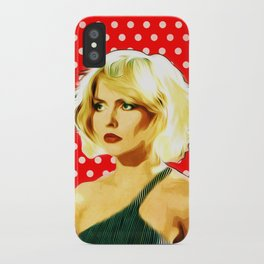 Blondie - Debbie Harry - Pop Art iPhone Case