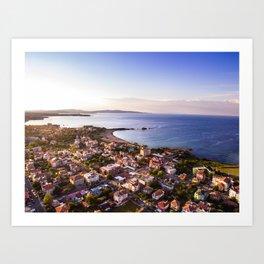 Lozenets Aerial Beach Photography Art Print