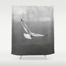 Flying Bird Shower Curtain