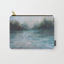 Watercolour Riverscape Carry-All Pouch