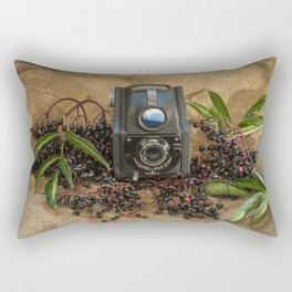 Ensign and the Elderberries Rectangular Pillow