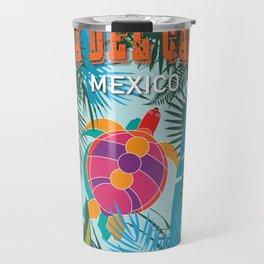 Playa Del Carmen Travel Mug