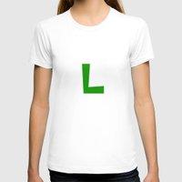 luigi T-shirts featuring Nintendo Luigi by JAGraphic