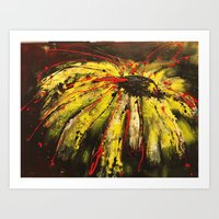 Everything's Coming Up Daisies Art Print