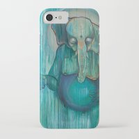 ganesh iPhone & iPod Cases featuring Ganesh  by Magick Monica