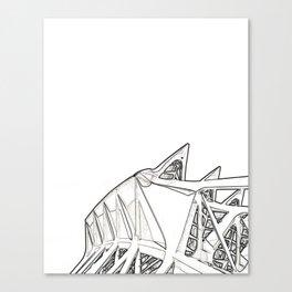 Architecture: Calatrava Canvas Print