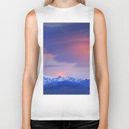 Lenticular clouds over Sierra Nevada National Park Biker Tank