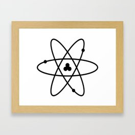 Atom Framed Art Print
