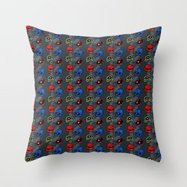 0079 Zeons Throw Pillow