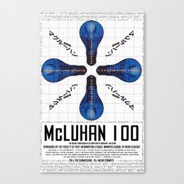 McLuhan 100  Canvas Print