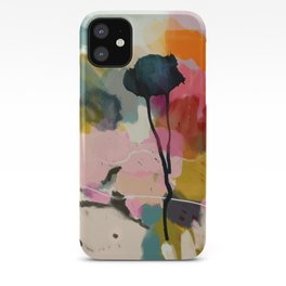 paysage abstract iPhone Case
