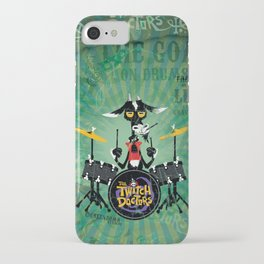 The Goat - Drums. The Twitch Doctors iPhone Case