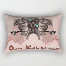 OUM KALTHOUM: VOICE OF EGYPT Rectangular Pillow